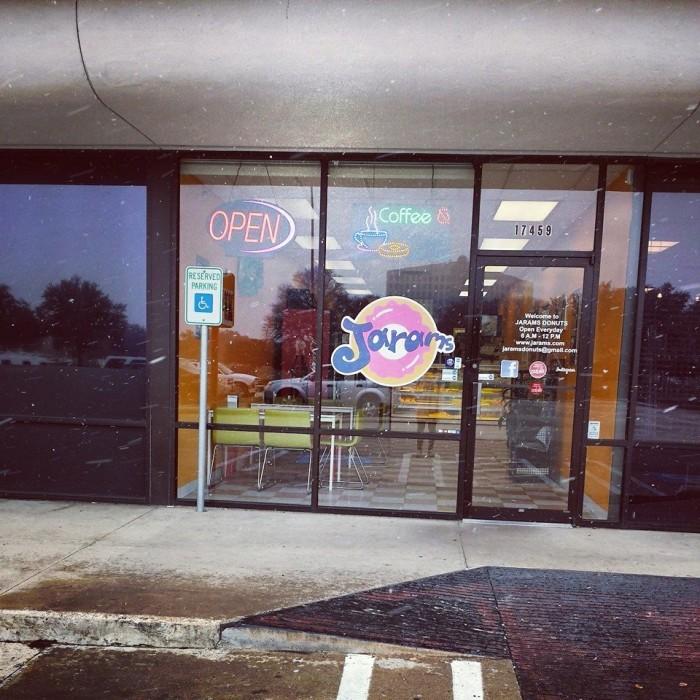 7) Jarams Donuts - Dallas