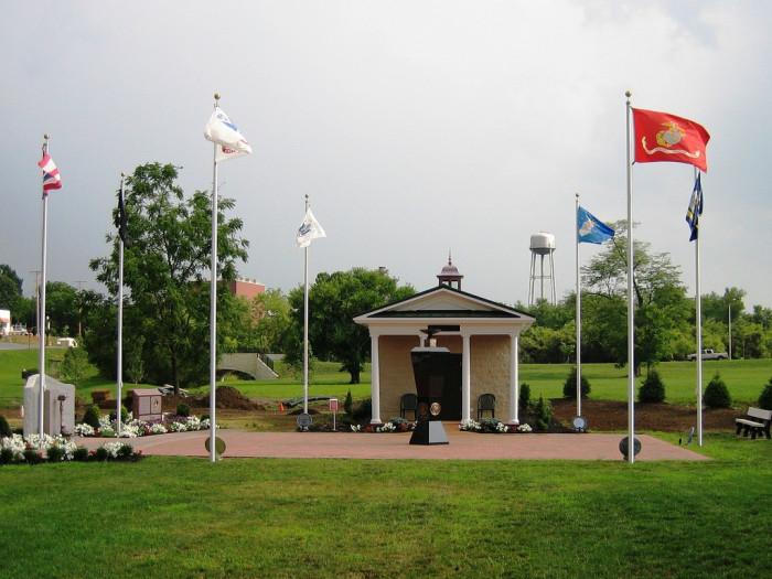 3) The Ohio Fallen Heroes Memorial (Sunbury)