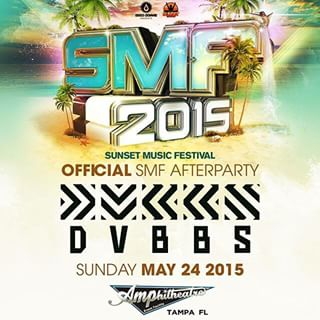 5. The Sunset Music Festival in Tampa will run May 23rd and 24th. The event has three stages and thousands of attendees.