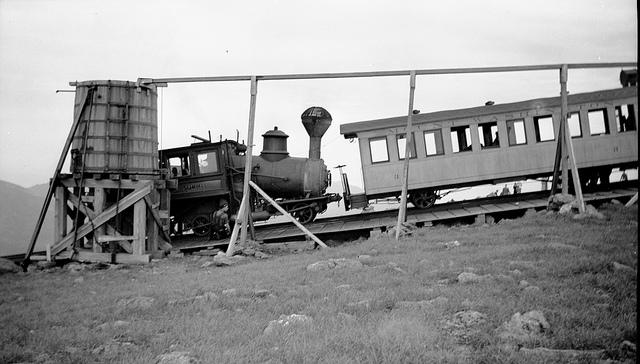 2. Mount Washington Railroad, 1937