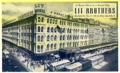 10. LIT Brothers Department Store, Philadelphia