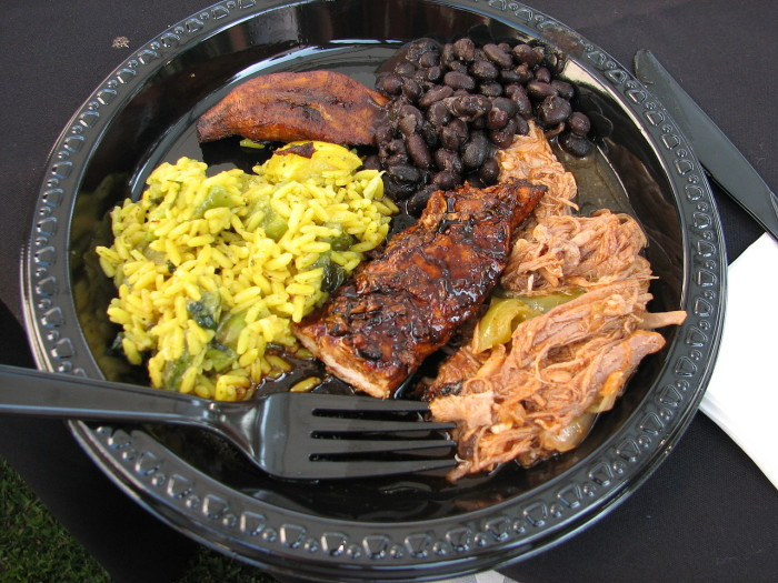 12. Caribbean food