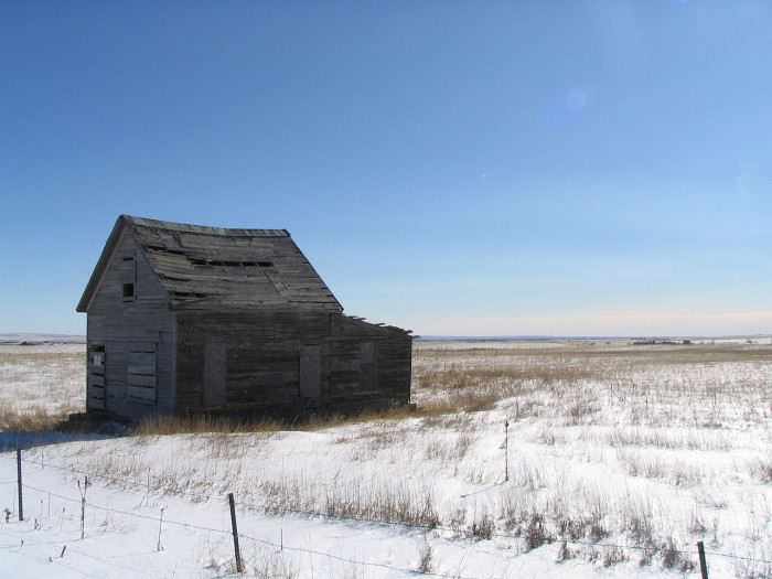 3.) House in Eastonville, Colorado