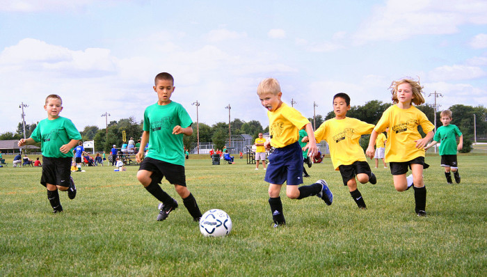 2. We have amazing weather, so it's easy for kids to stay active. There are tons of sports leagues for kids, and parents of little ones can almost always find a park or playground.