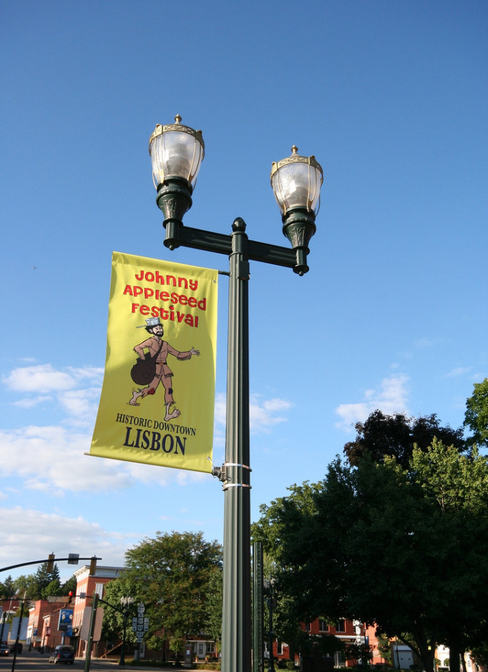 9) Johnny Appleseed Festival (Lisbon, July) come and get your apple on.