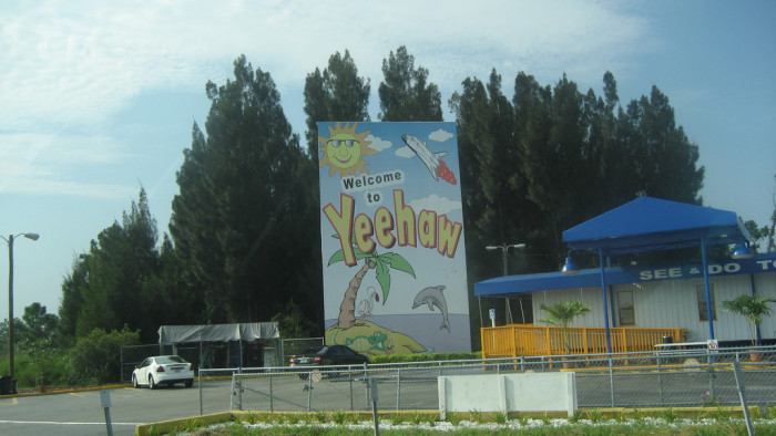 14. Yeehaw Junction, FL