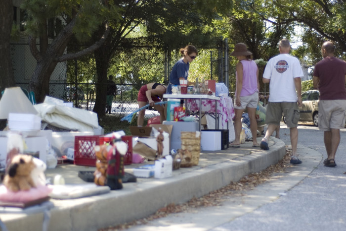 13. What list would not be complete about summer ideas without mentioning yard sales?