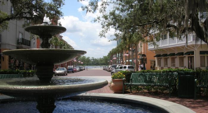 7. Explore Disney's Dream Town