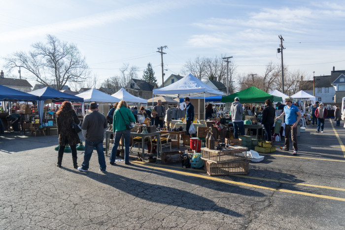 5) Unashamedly shopped at a flea market (because you know they're actually kind of the best thing there is.)