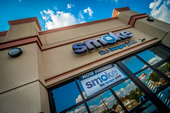 8) Smoke The Burger Joint (North Canton)