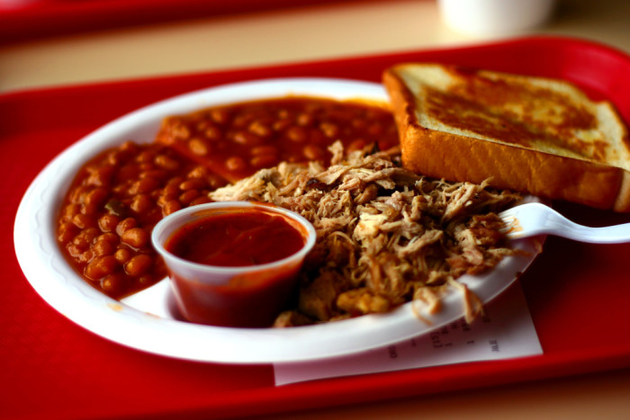 """10. BBQ. Some people think we're not """"Southern"""" enough, but the number of BBQ places we have tells another story."""