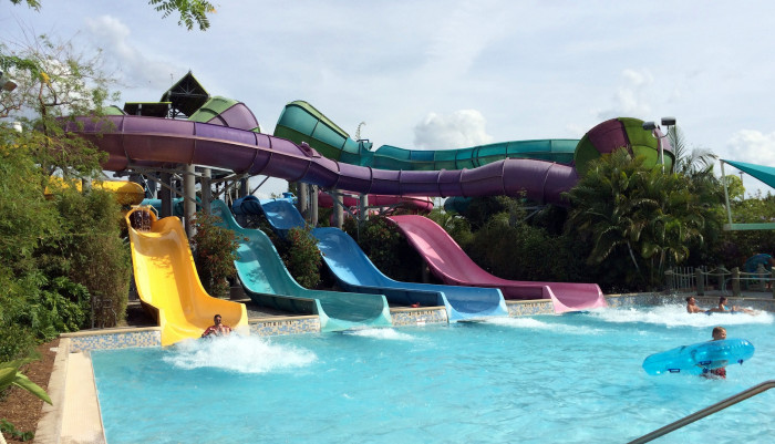 4. Cool off at one of our ridiculously awesome water parks.