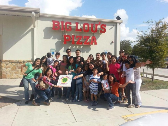 4) Big Lou's Pizza - San Antonio