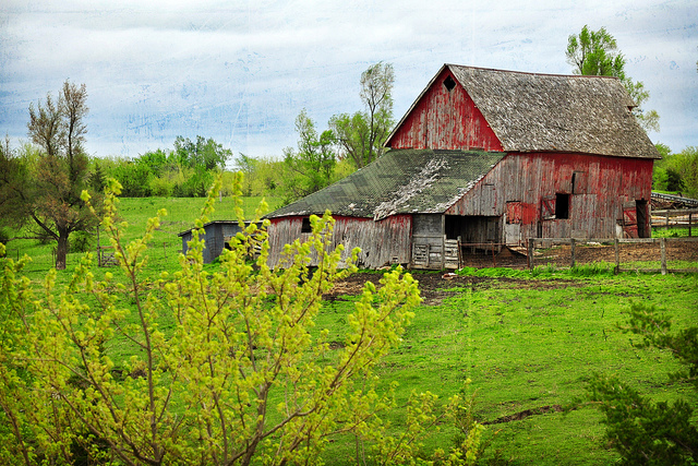 15 Photos Of Beautiful Old Barns In Iowa