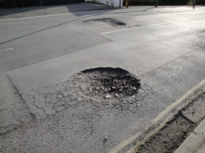 14.) You prefer to drive in the winter because at least the pot holes are filled with snow and ice.