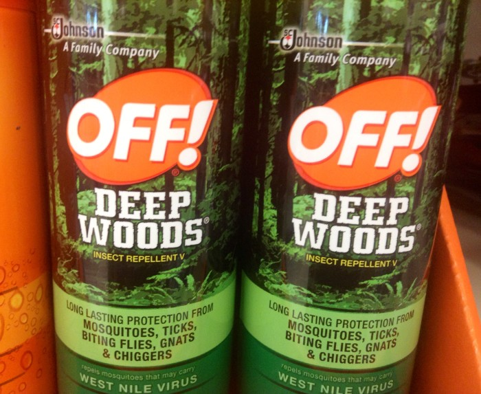 2. Repellent: If you don't want to be eaten alive in the summer, especially around dusk, grab some DEET, ASAP.
