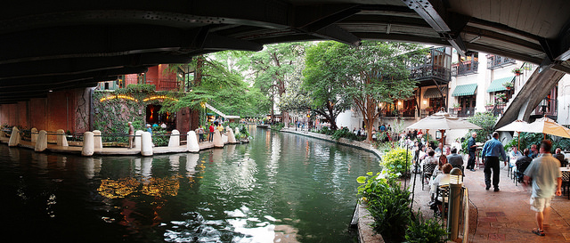7) Visit San Antonio; besides the famous riverwalk, you'll find plenty of other fun activities here for the whole family.