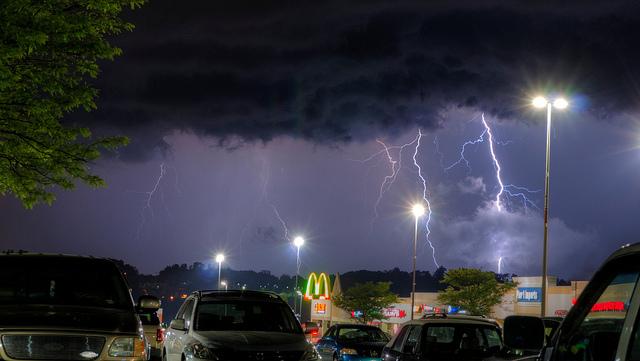 Thor Thunder Lightning Storms