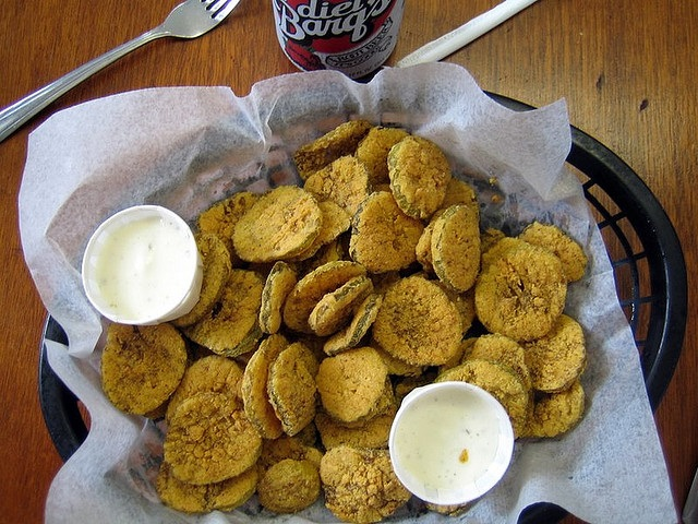 6. Fried Dill Pickles