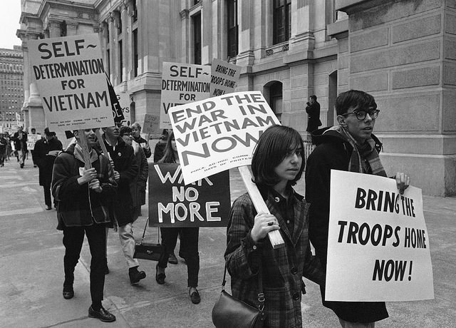3. Anti War Demonstration in Philadelphia, 1966