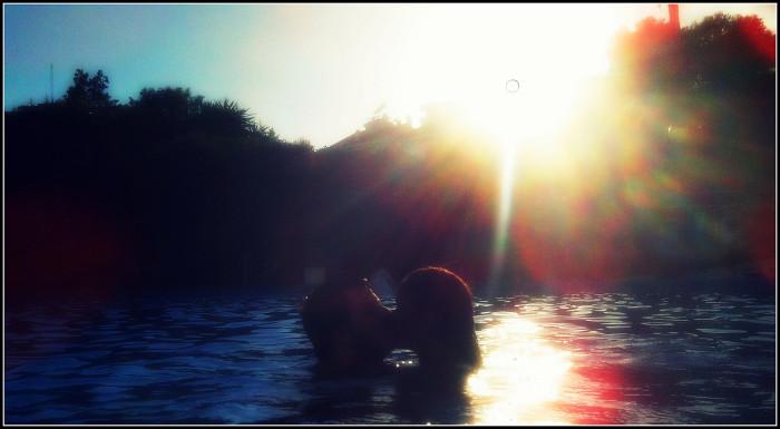 Swimming in Lake Lanier