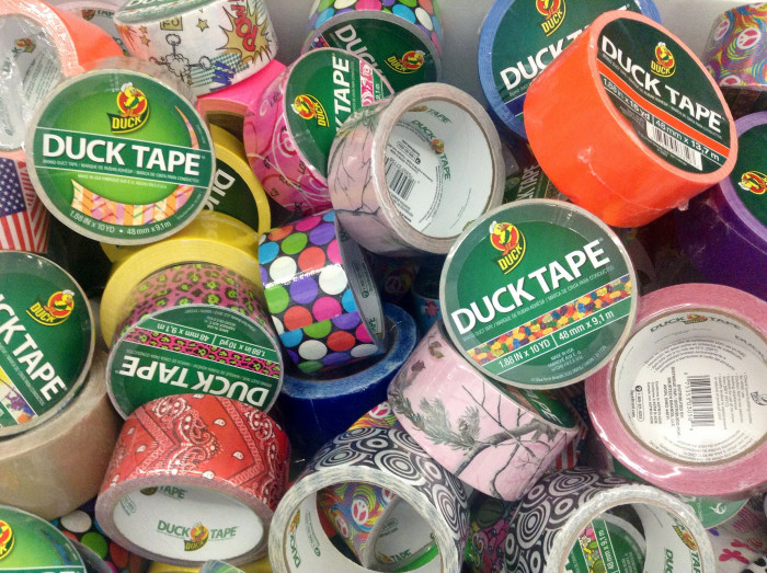 7) The Avon Heritage Duct Tape Festival (June) where duct tape enthusiasts gather.