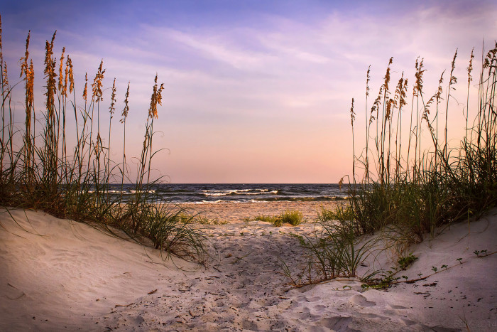 Watch the Sunset at Tybee Island