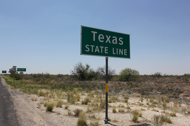 "13) ""Texas isn't really that big."""