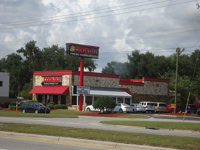 4. Eat cookout after a night on the town.