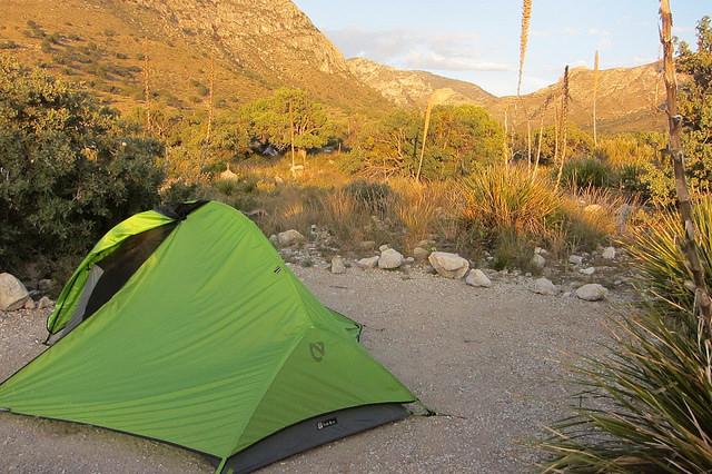 6) Camping