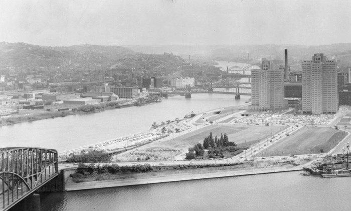 18. Point State Park, Pittsburgh, 1954
