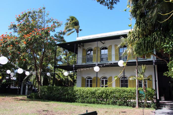 2. Ernest Hemingway Home & Museum