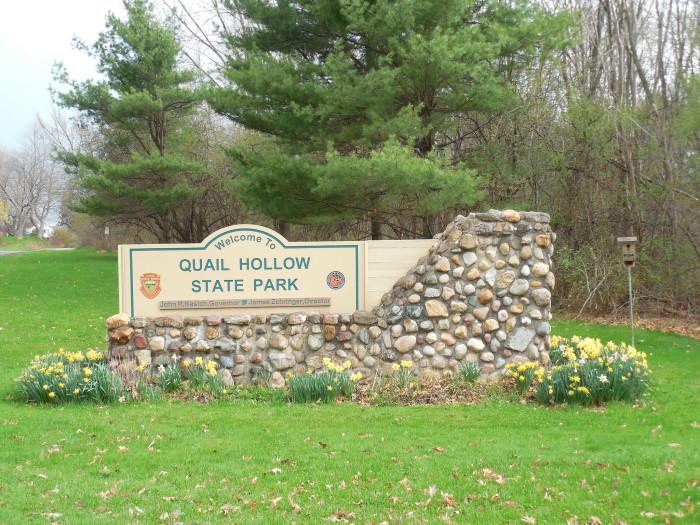 12) Quail Hollow State Park (Hartville)