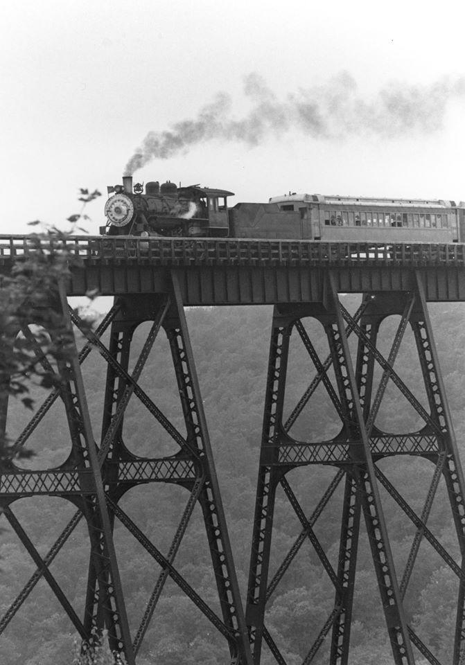 1. Kinzua Bridge, c. 1959