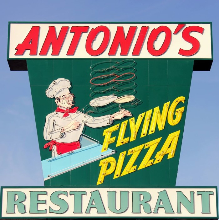 7) Antonio's Flying Pizza - Houston