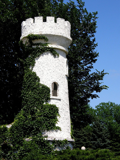 "1. Ida Grove: The ""Castle Town,"" has several different towers, palaces, and other castle-themed structures built by Byron Godbersen, who was apparently very fond of castles."