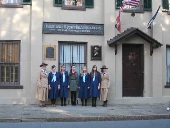 8. 1st Girl Scout Headquarters- Savannah, GA