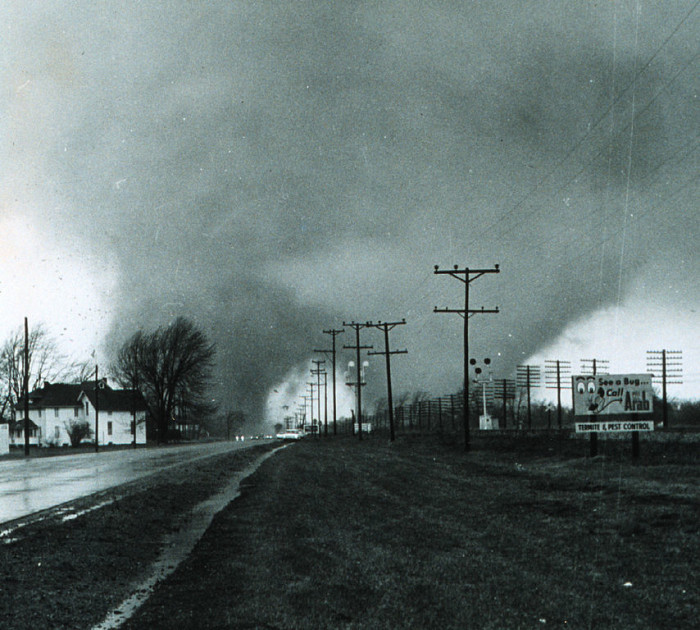 2.) The Palm Sunday Tornado Outbreak of 1965