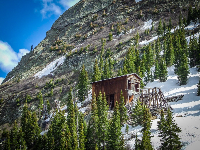 4.) Sunnyside Mine in Eureka, Colorado