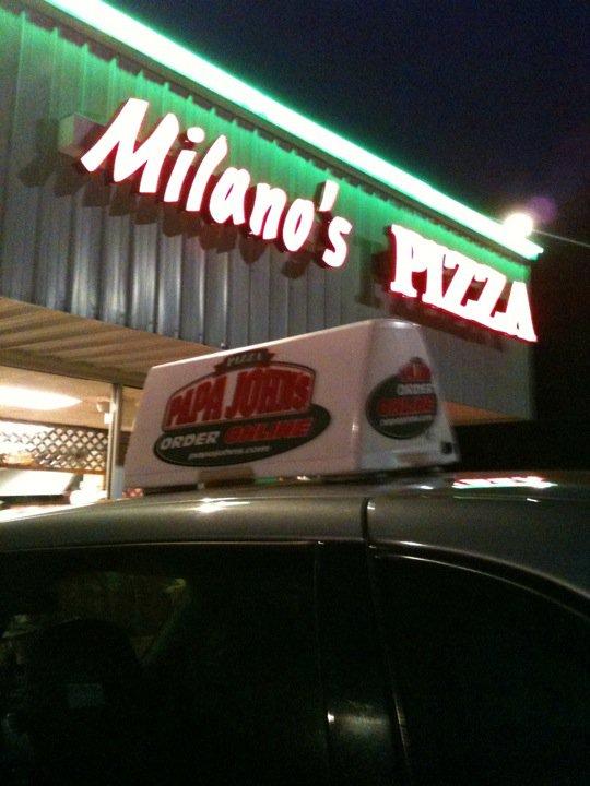 Milano's Pizza, Georgetown Shopping Center, 4498 Chamblee Dunwoody Rd, Dunwoody, GA 30338