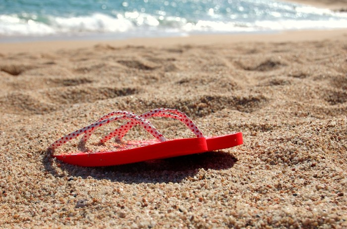 3. Flip flops: If you want to have any hope of fitting in, you've got to get at least a few pairs of flip flops. Lucky for you they're usually pretty cheap.