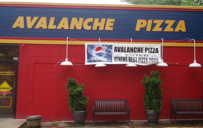 8) Avalanche Pizza (Athens)