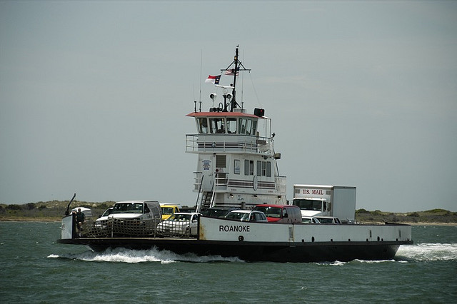 8. Ride a ferry to the Outer Banks