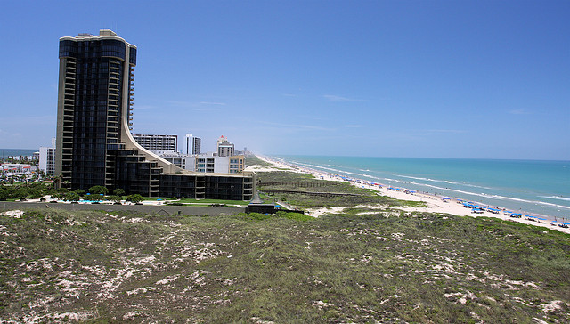 ..the beautiful (sometimes) blue waters at South Padre Island...