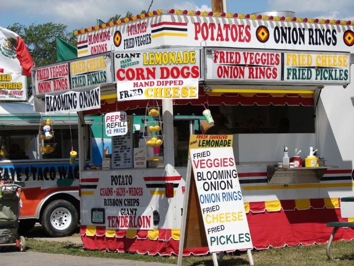 10) Also, attending multiple county fairs each year in addition to the Ohio State Fair.