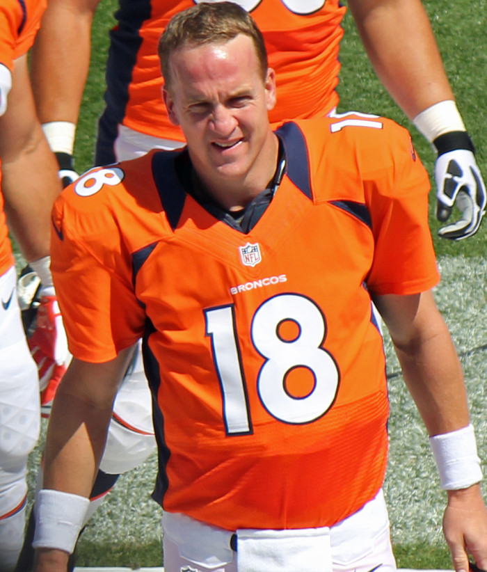 28.) In 2012, you suddenly became a fan of the Broncos.