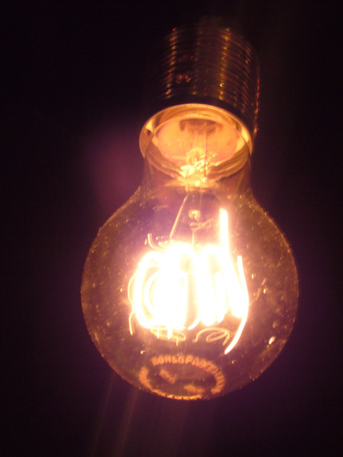 8. Nothing must be sold on Sundays except light bulbs.