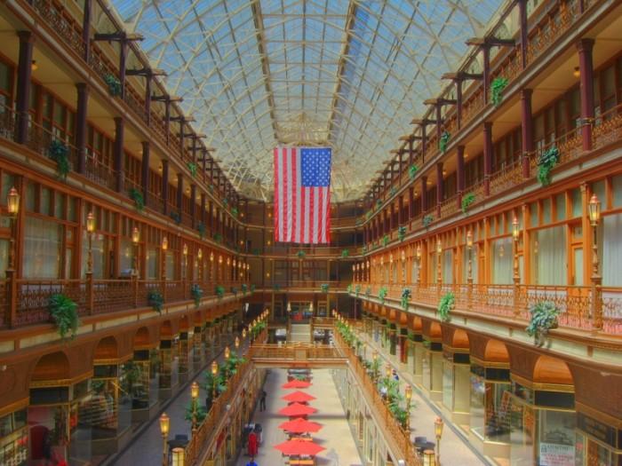 1) Hyatt Regency Cleveland at The Arcade