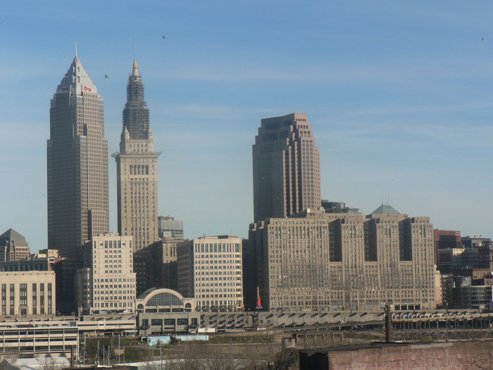 7) Cleveland