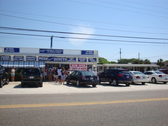 8. Thomas Donut and Snack Shop in Panama City Beach, FL
